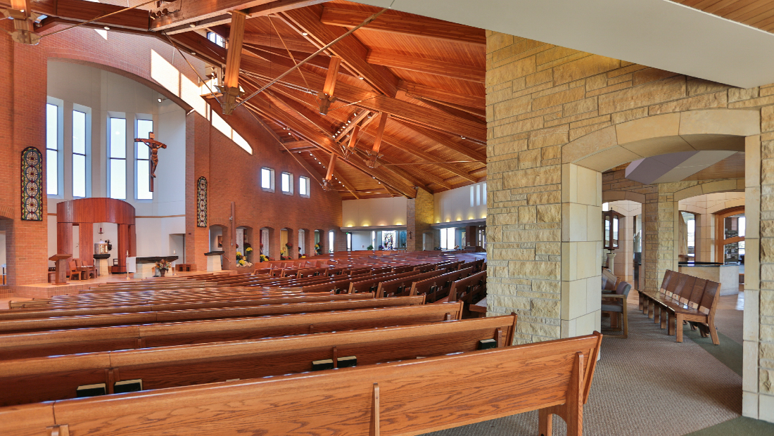 Mary And John Remodel Their 1980s Kitchen With A Fresh: Divine Mercy Catholic Church: Faribault, MN